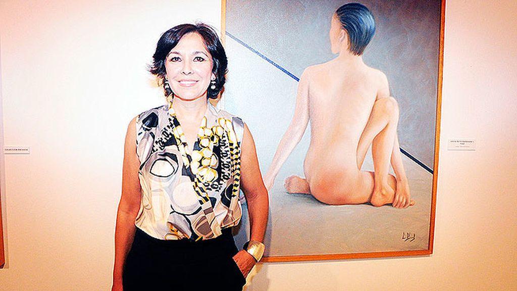 Isabel Gemio señaló este cuadro como uno de sus favoritos de la exposición