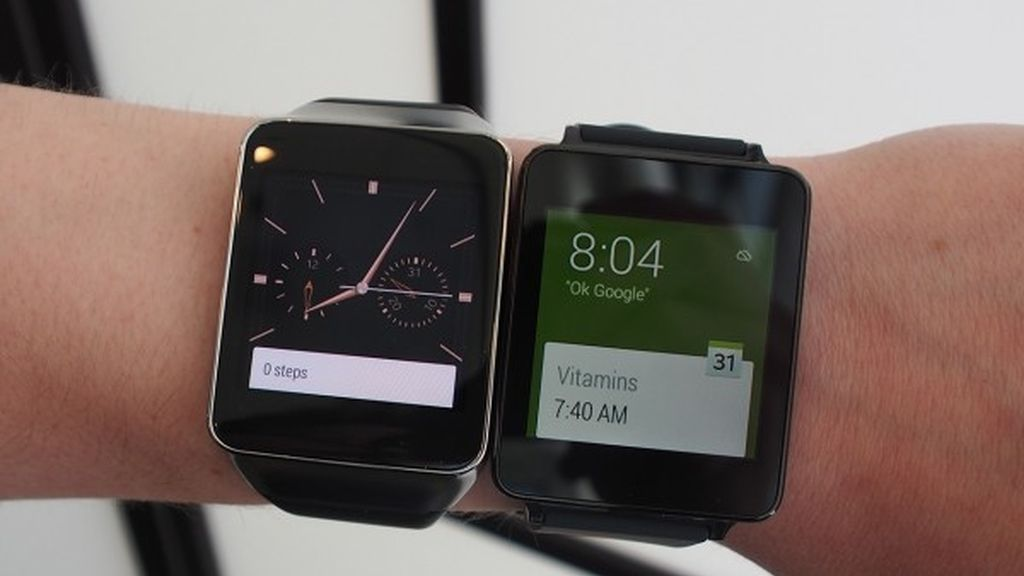 LG G Watch, Samsung Gear Live, relojes inteligentes,