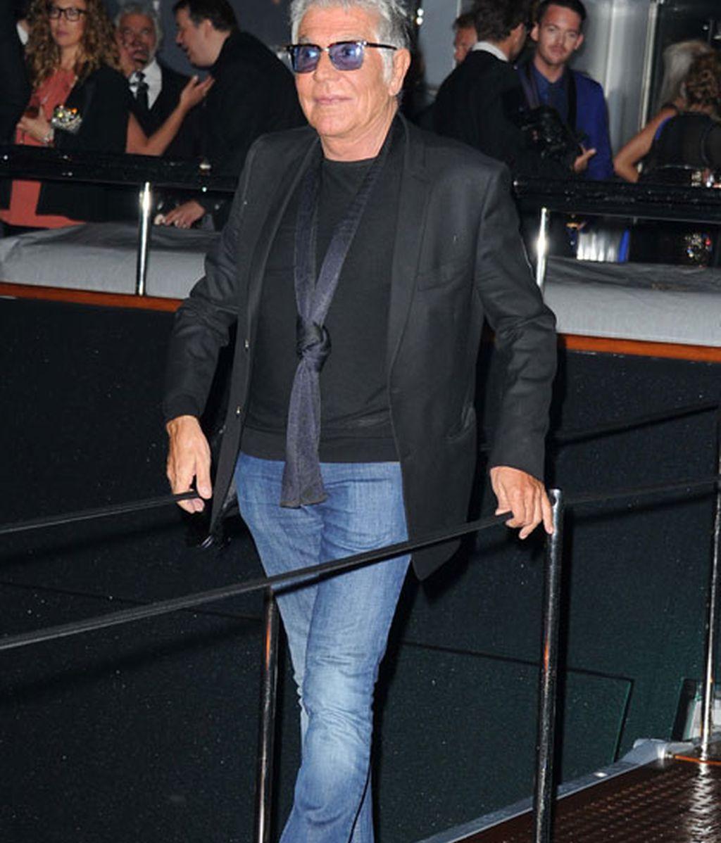 Roberto Cavalli reunió a todas las celebrities en su yate