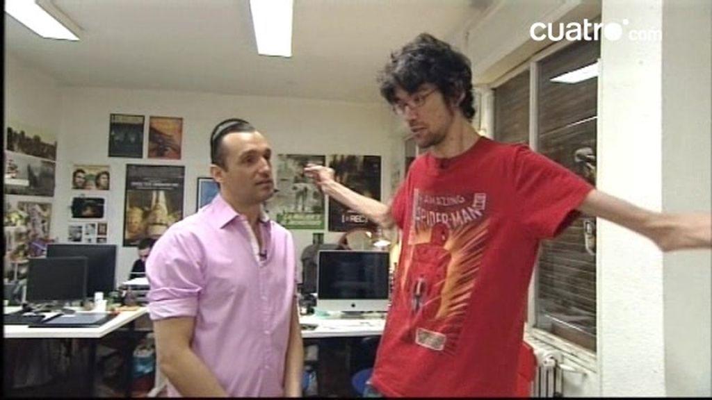 Javier ha sabido utilizar su cuerpo y su enfermedad para ser actor