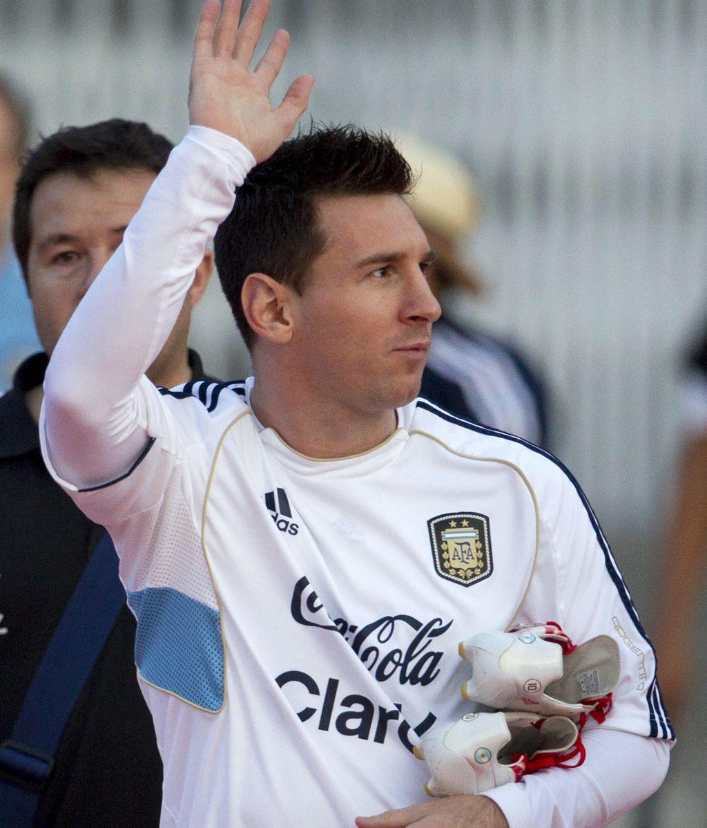 Y Messi a lo suyo