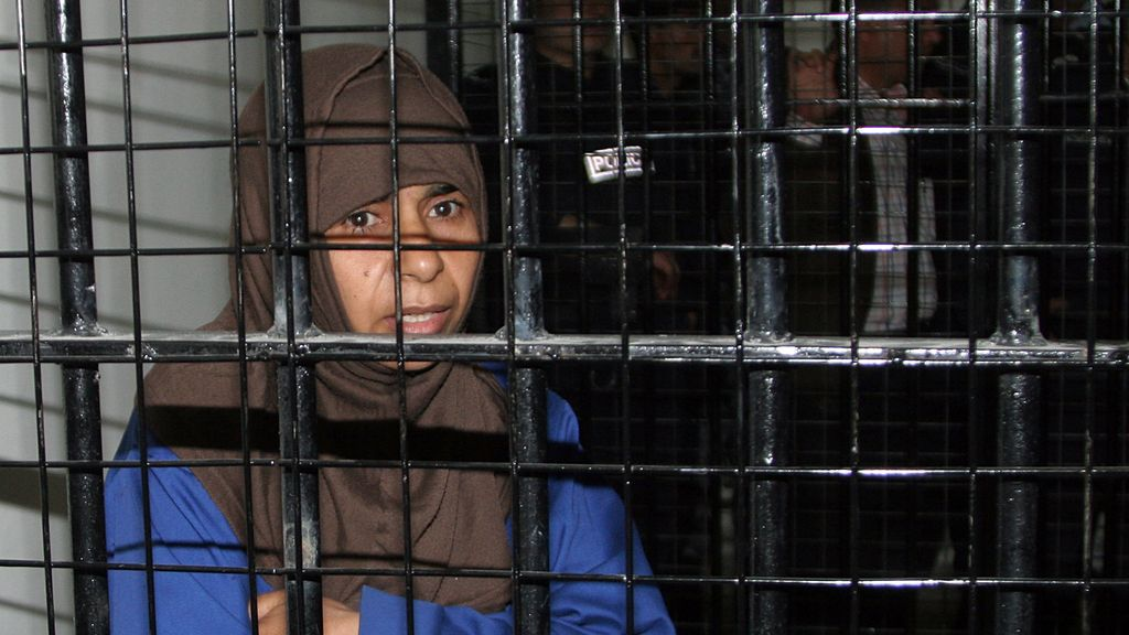 Imagen de archivo de la yihadista Sajida al Rishawi