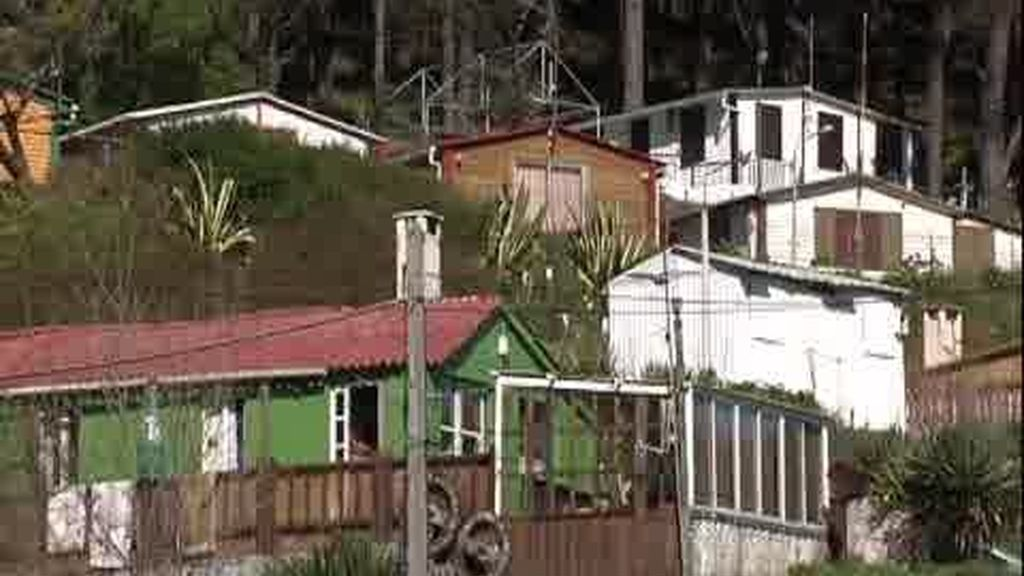 Chabolas ilegales en Ferrol