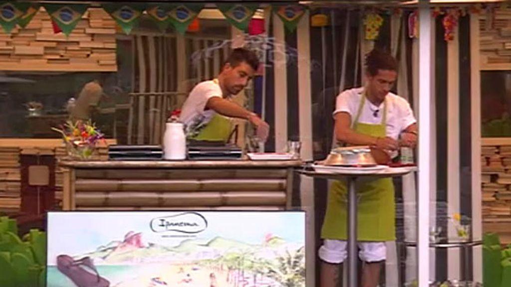 Fiesta brasileña en la casa de Guadalix