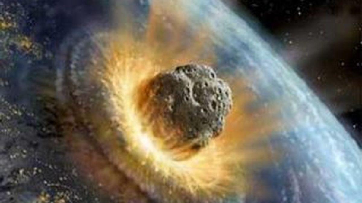 Simulación del choque de un asteroide contra la Tierra