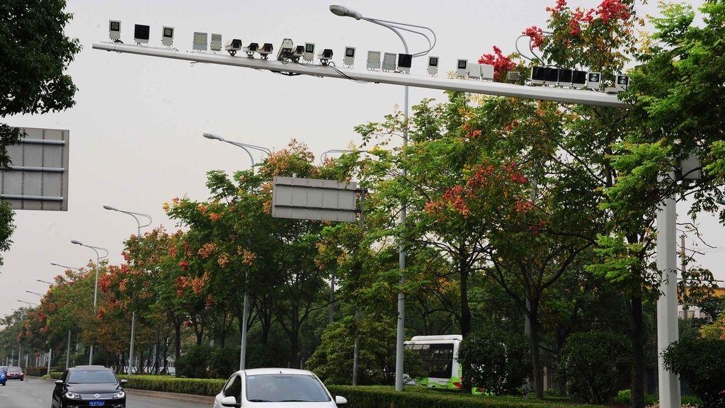 30 cámaras a modo de radar en Shanghai
