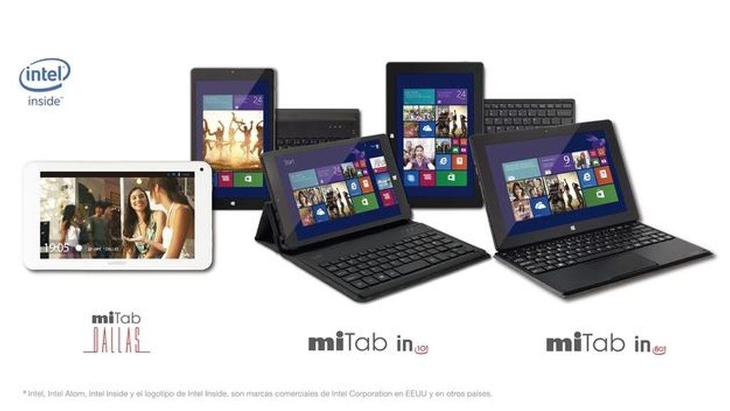 Wolder, tabletas, miTab, miTab IN 801, miTab IN 101, miTab DALLAS