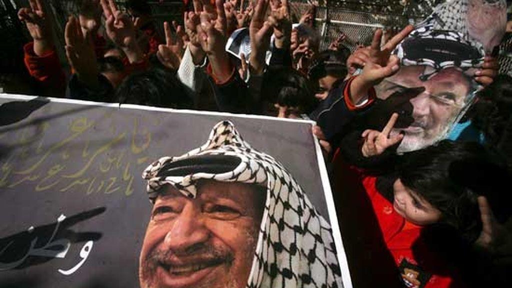 Quinto aniversario de la muerte de Arafat