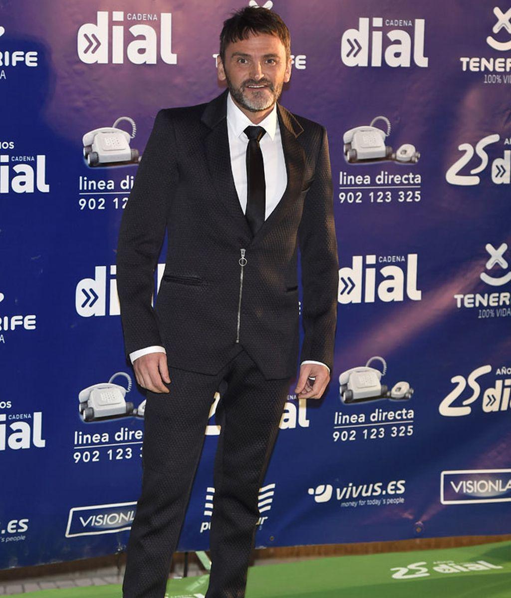 Fernando Tejero también estuvo en la gala con sus compañeros de reparto