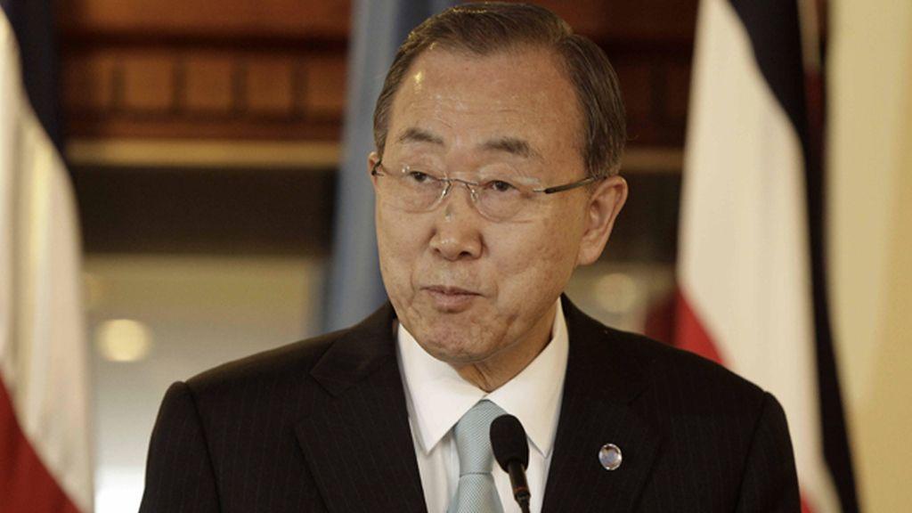 """Ban Ki Moon condena sin paliativos el """"criminal"""" bombardeo de otra escuela en Gaza"""