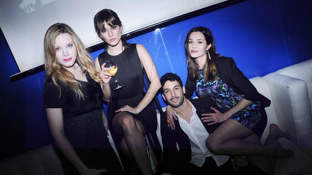 Carolina Bang, Silvia Alonso, Jonás Berami y Dafne Fernández