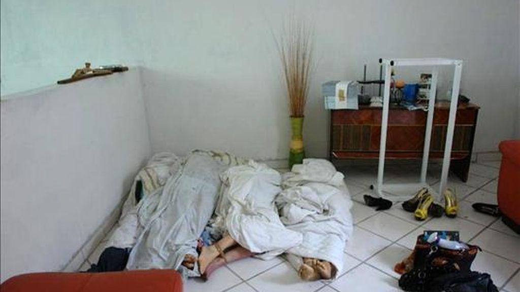 Los cadáveres, encontrados en el barrio Villa Colonial de la delegación La Mesa, tenían la cara cubierta con bolsas de plástico negras y las manos amputadas fueron colocadas en otras bolsas. EFE/Archivo