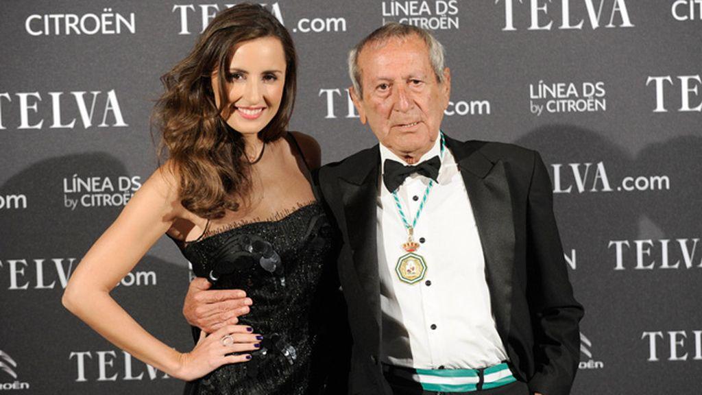 El artista y su musa: Elio Bernhayer y Mónica de Tomás