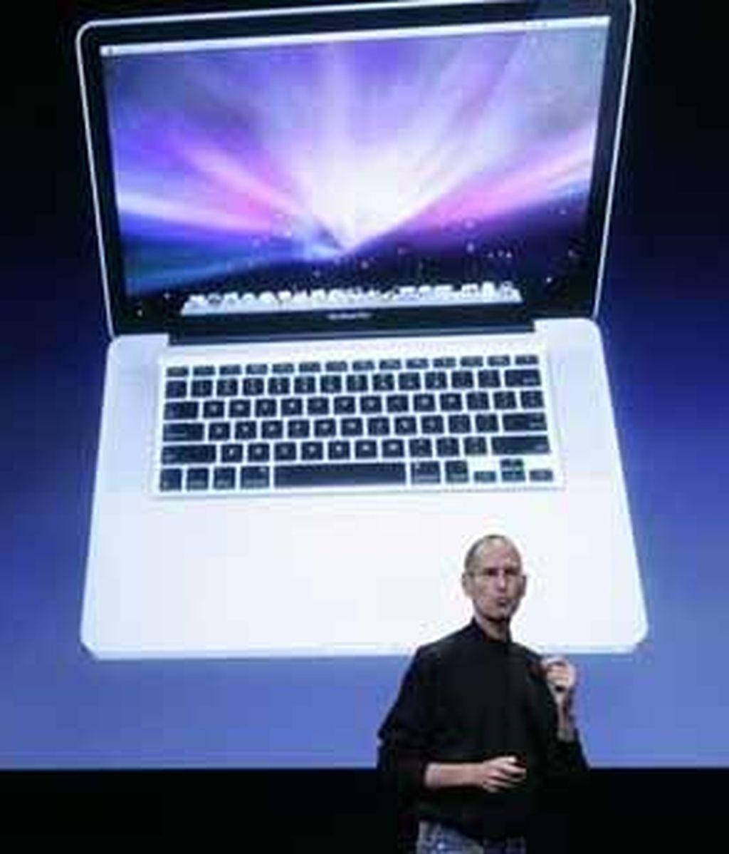 Steve Jobs durante la presentación de los nuevos modelos de Apple. Foto: AP