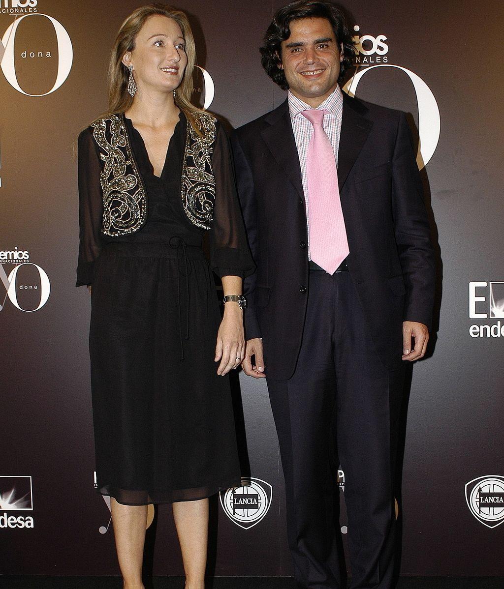 Andrea Fabra y su marido  Juan José Güemes