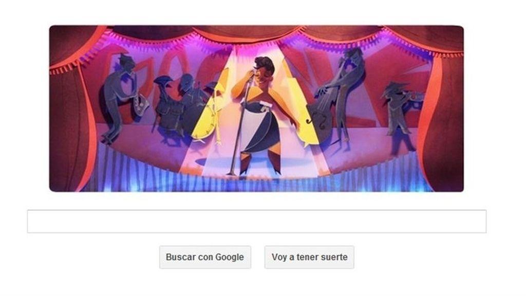 La leyenda del jazz Ella Fitzgerald se sube al escenario de Google