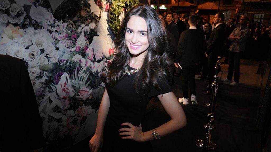La actriz Alicia Sanz
