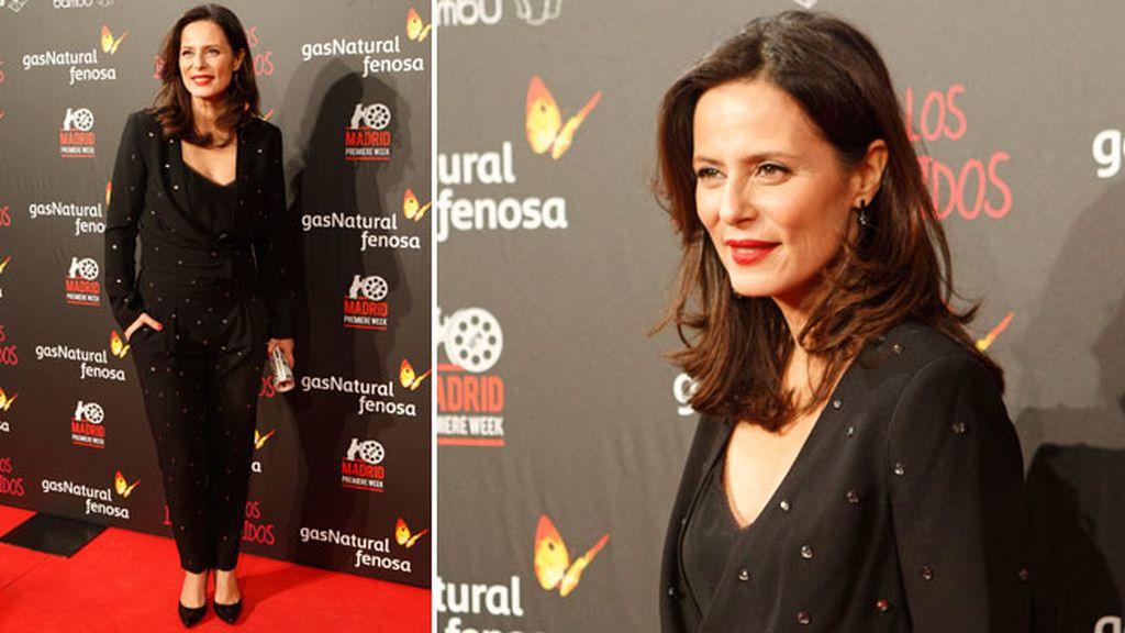La actriz Aitana Sánchez Gijón, una de las protagonístas de la película