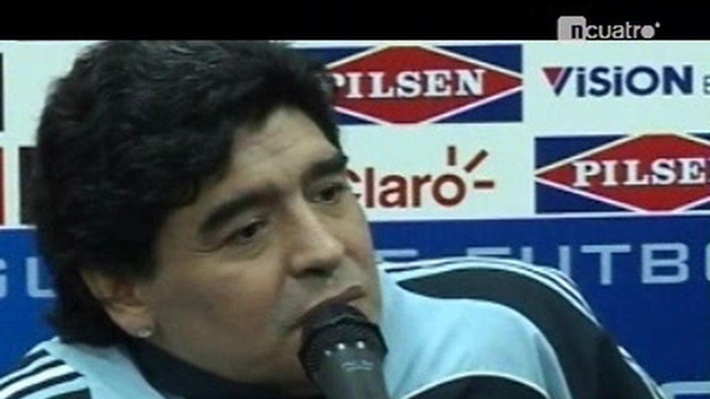 ¿Hasta cuándo el chiste de Maradona como entrandor?
