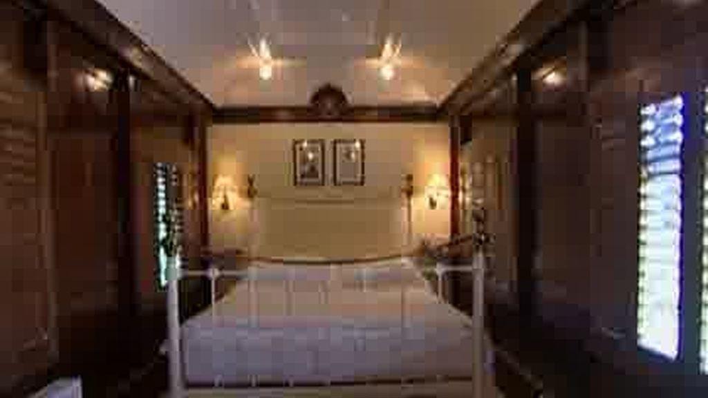 Un hotel cuyas habitaciones son vagones de ferrocarriles de los años 20