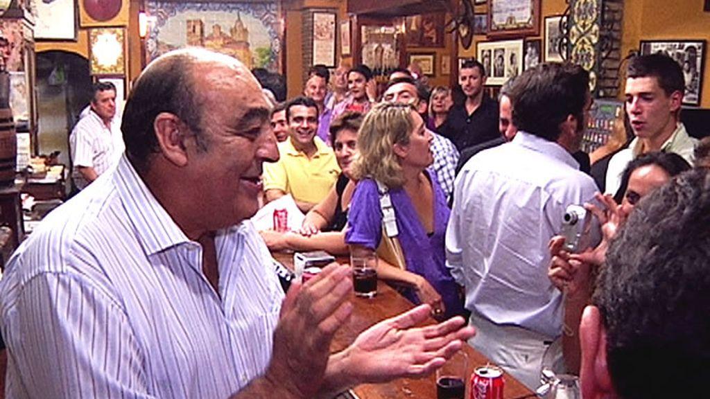 ¡El arte de Sevilla, hasta en el bar!