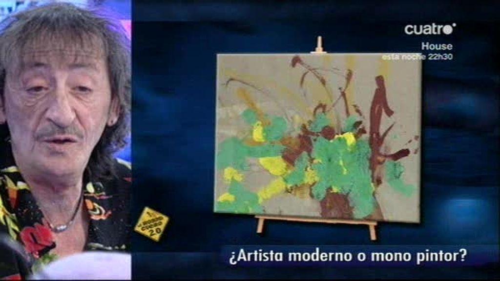 El 'pintamonas' con Eduardo Gómez