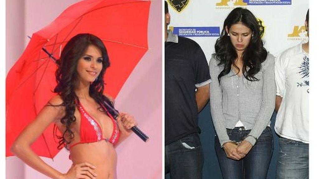 Detenida la reina de la belleza de Sinaloa