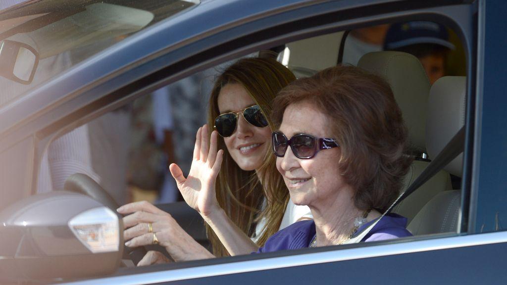 Letizia hace su aparición en Mallorca