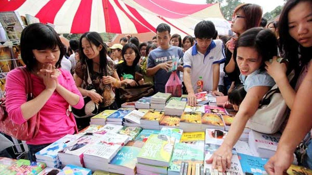 Festival de Lectura en Hanoi (Vietnam)