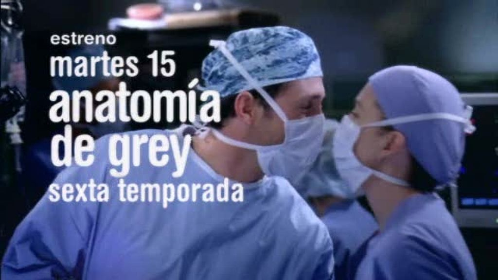 Promo Anatomía de Grey. El martes 15 volverás a la consulta