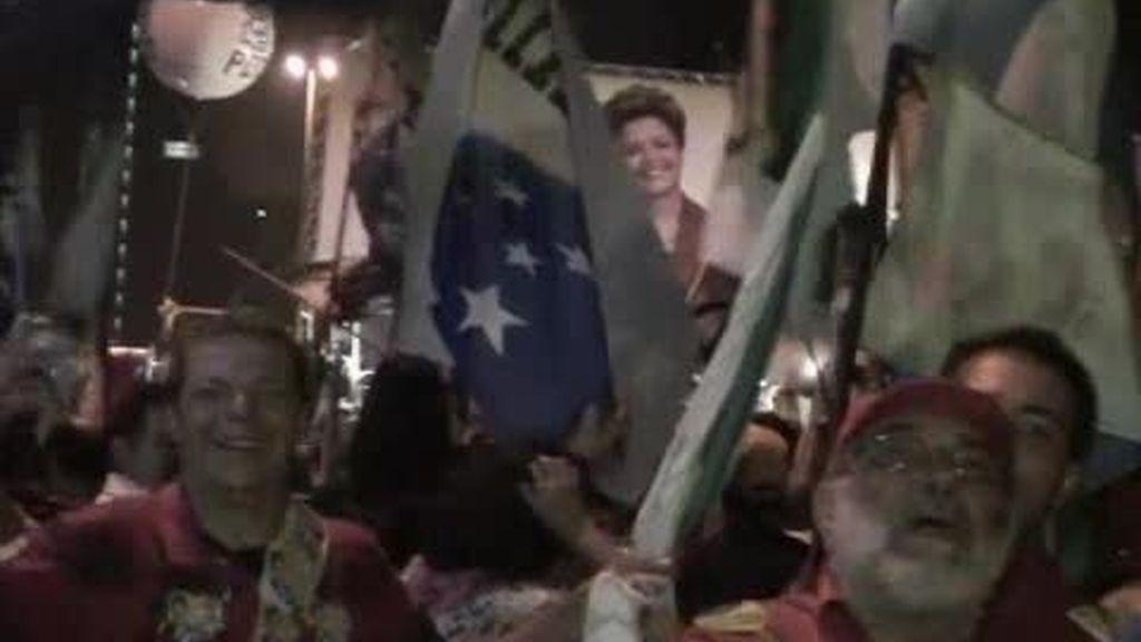 Brasil vitorea a su primera presidenta