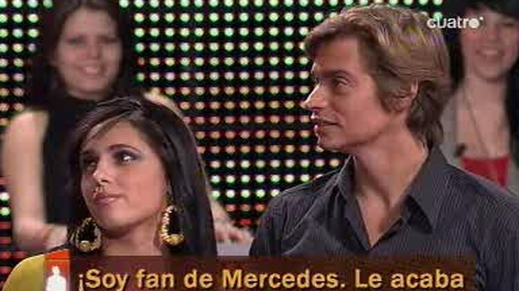 A Mercedes, la chica elegida, no acaba de gustarle el chico?¡empezamos bien!