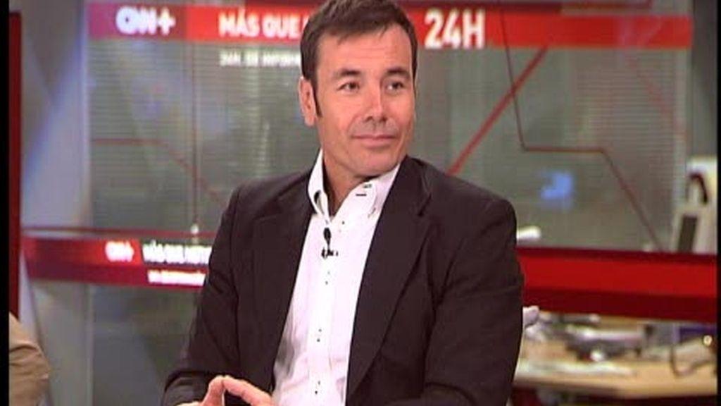 Tomás Gómez, en CNN+