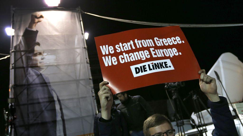 """""""Empezamos en Grecia. Cambiamos Europa"""""""