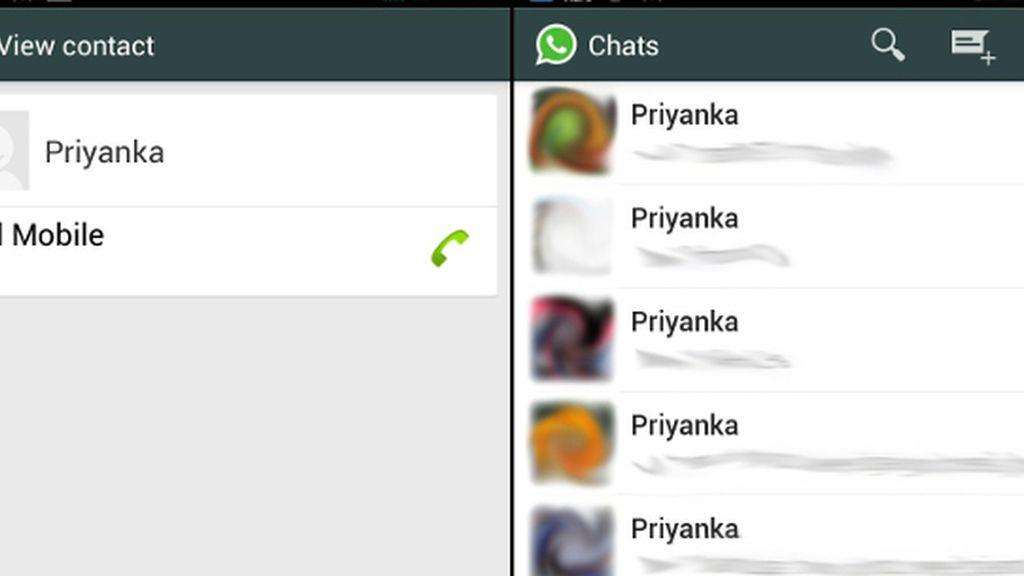 El virus 'Priyanka' modifica tus contactos de Whatsapp