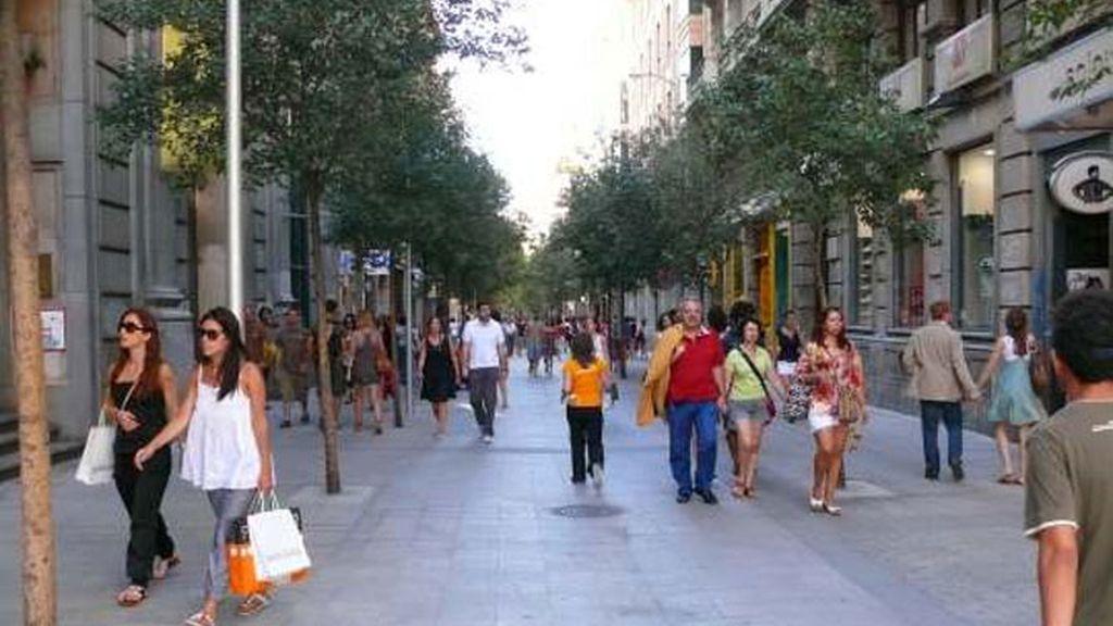 La familia vivía en la madrileña calle de Fuencarral.