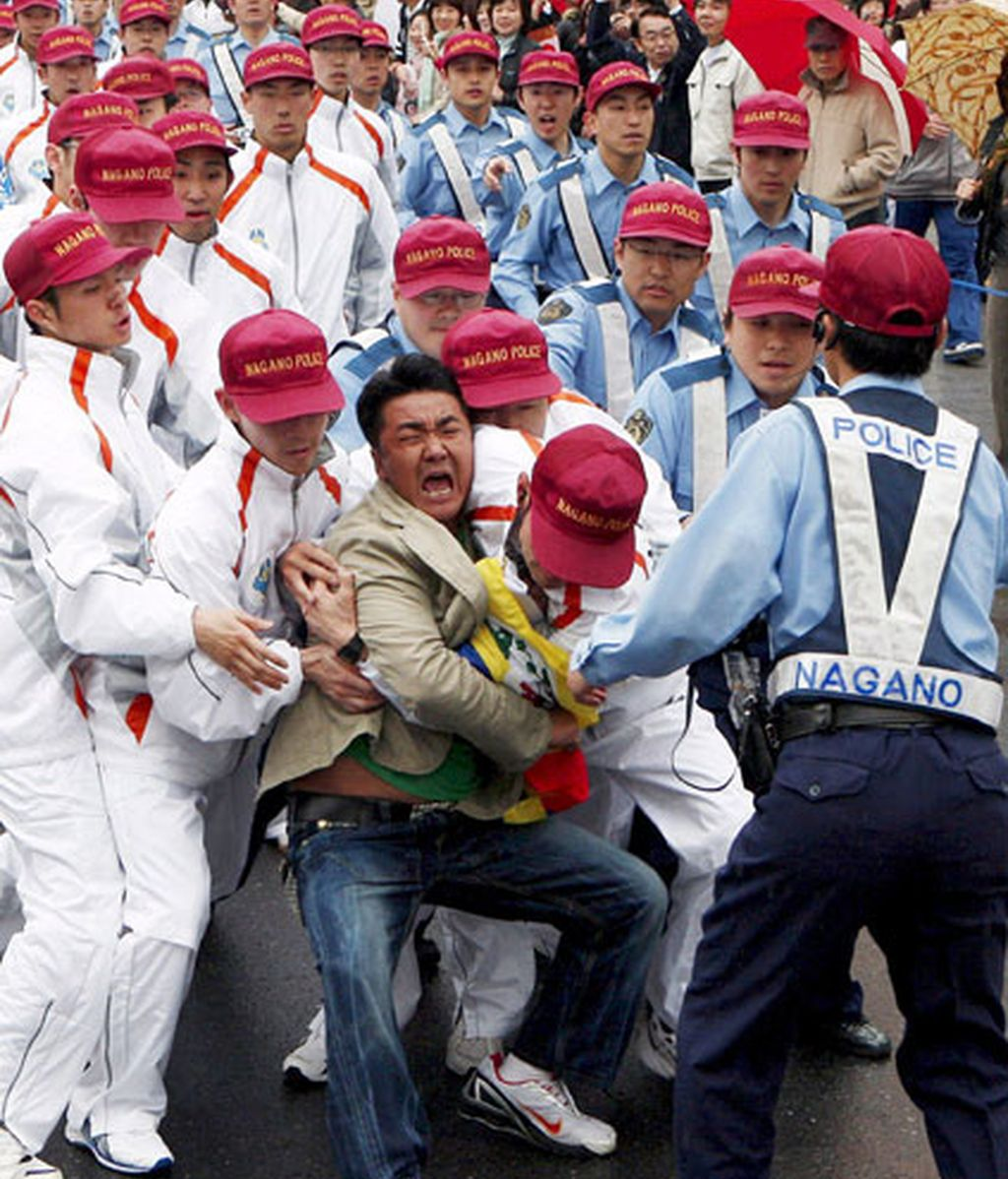 Disturbios en Japón