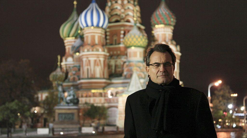 Artur Mas, en Moscú. Foto: EFE