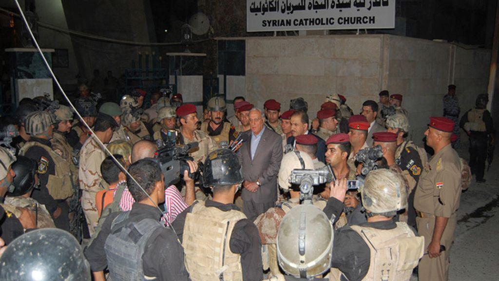 Al menos 52 muertos a un asalto a una Iglesia de Bagdad