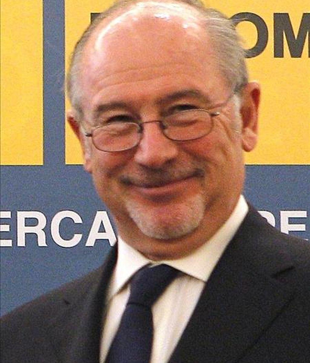 El presidente de Caja Madrid, Rodrigo Rato. EFE/Archivo
