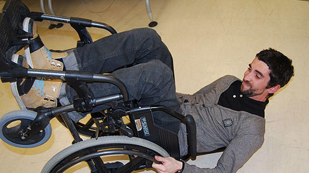El becario sobre ruedas