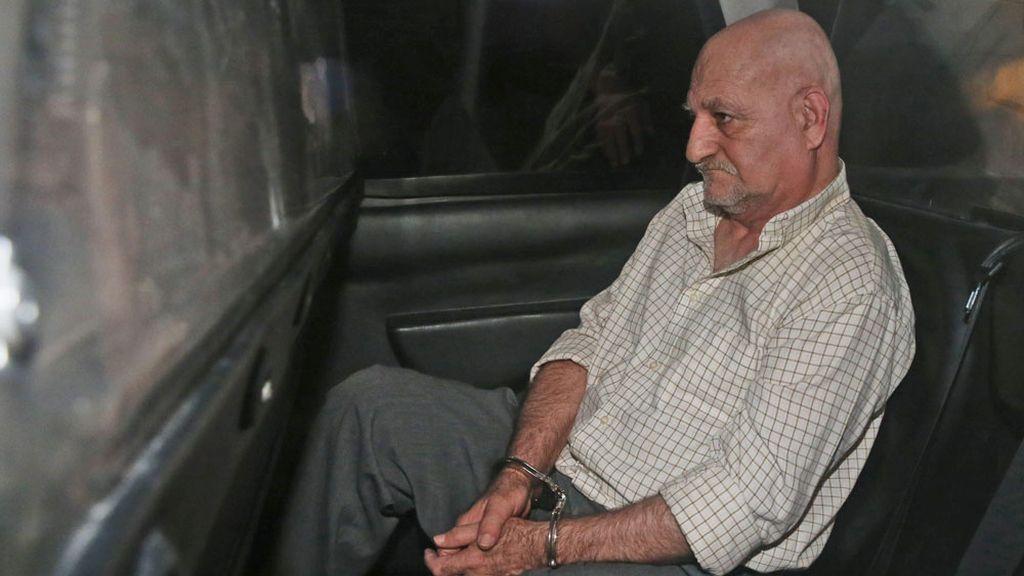 Daniel Galván, detenido
