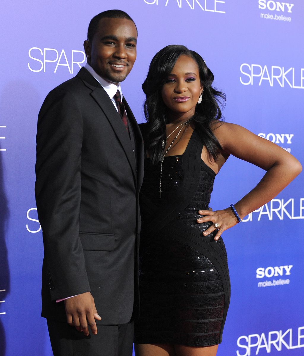 Bobbi Kristina Brown con su marido, Nick Gordon
