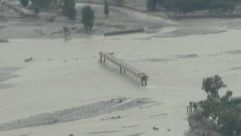 Las inundaciones en Pakistán dejan un territorio desolado
