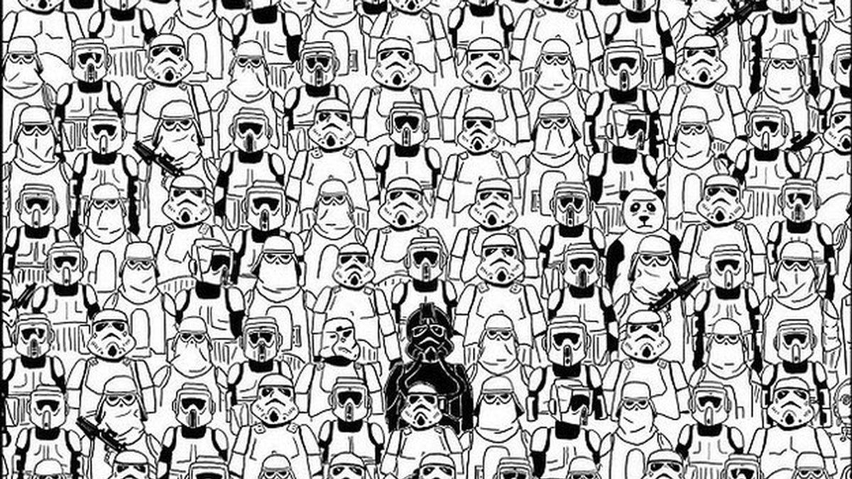 ¿Ves al panda?