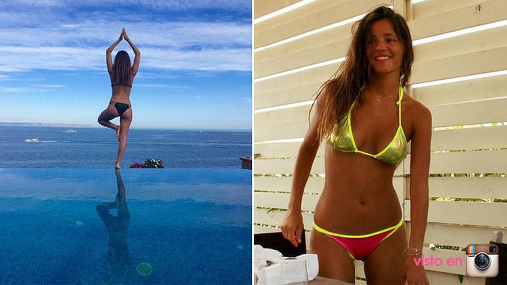 Malena Costa está descubriendo la costa italiana