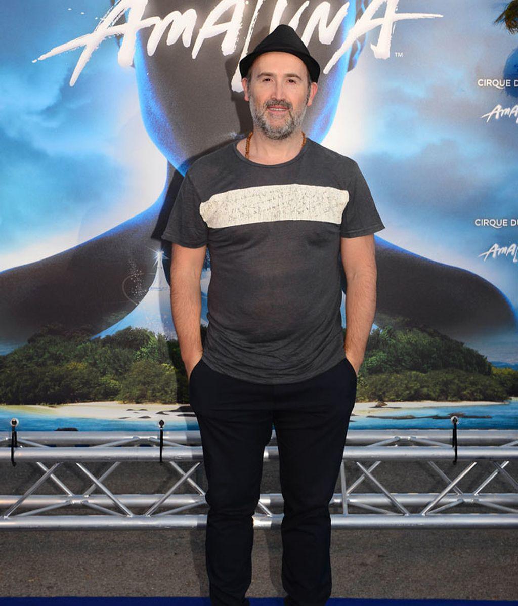 El actor Javier Cámara también el nuevo espectáculo del Circo del Sol