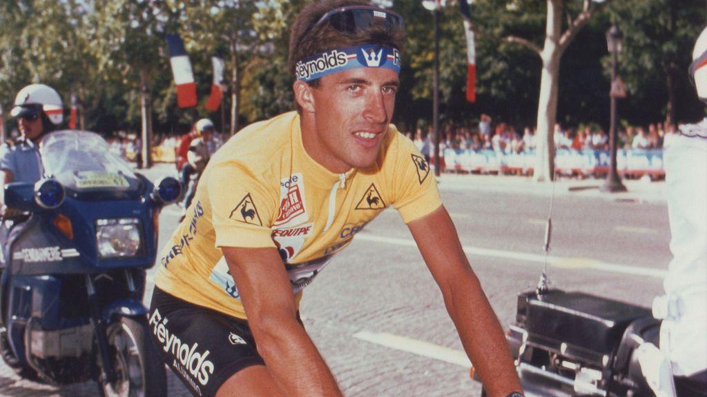 Perico Delgado ganó la ronda gala en 1988