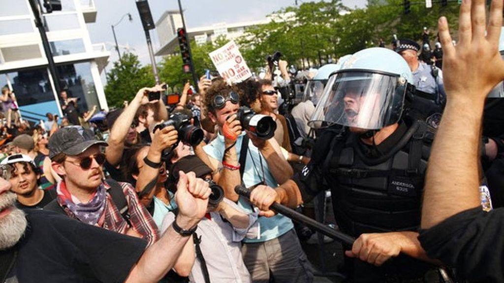 Cuarenta y cinco activistas anti-OTAN detenidos en Chicago