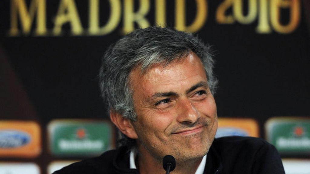 Mourinho habla del futuro en el Madrid